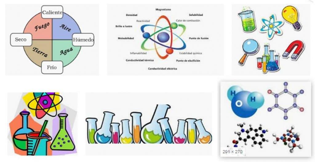Concepto de materia en Química